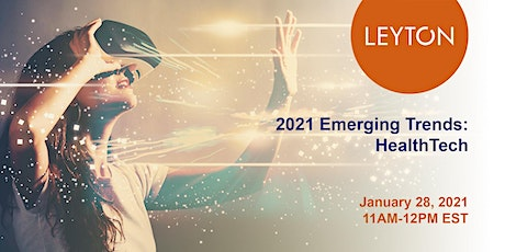 2021 Emerging Trends: HealthTech tickets