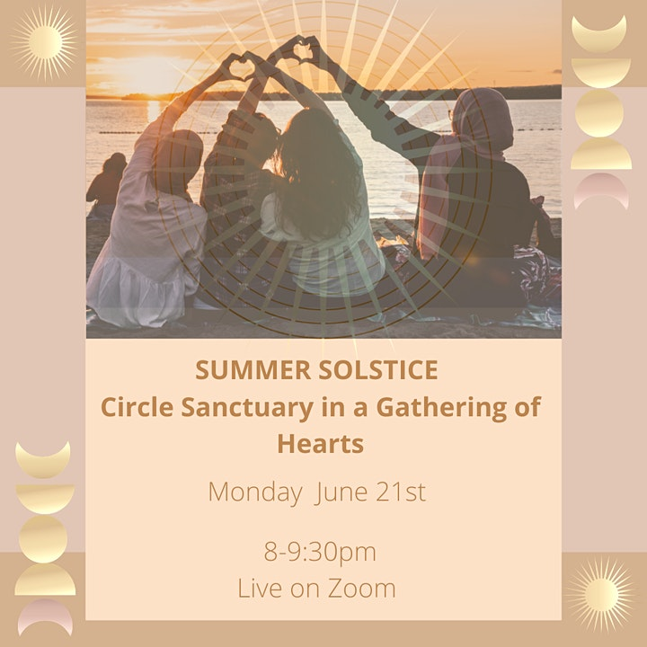 SUMMER SOLSTICE- CIRCLE SANCTUARY IN THE  GATHERING OF HEARTS image