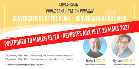 Conversations of the heart / Conversations du coeur billets