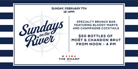Sundays On The River at The Wharf Miami (Noon 'til 4pm) tickets