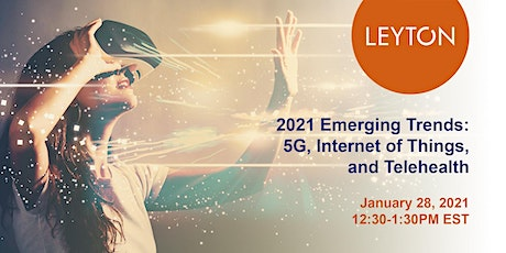 2021 Emerging Trends: 5G, Internet of Things, and Telehealth tickets