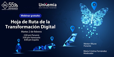 Webinar: Hoja de Ruta de la Transformación Digital boletos