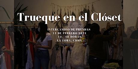 Trueque en el clóset_Fiesta de intercambio 2a. Ed. boletos