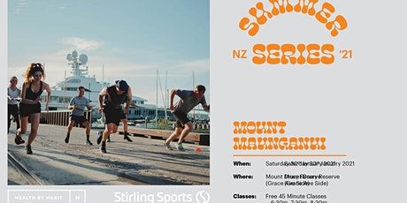 Stirling Sports X Health by Habit Summer Series - Mount Maunganui tickets