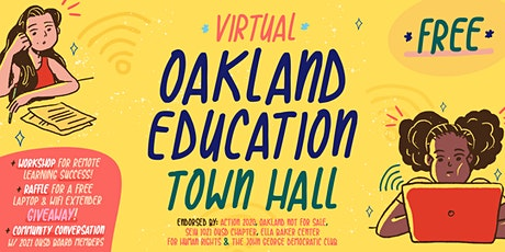 Oakland Education Town Hall: The Future of Oakland Schools! tickets