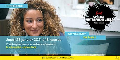 D'entrepreneuse à entrepreneuses : la réussite collective billets