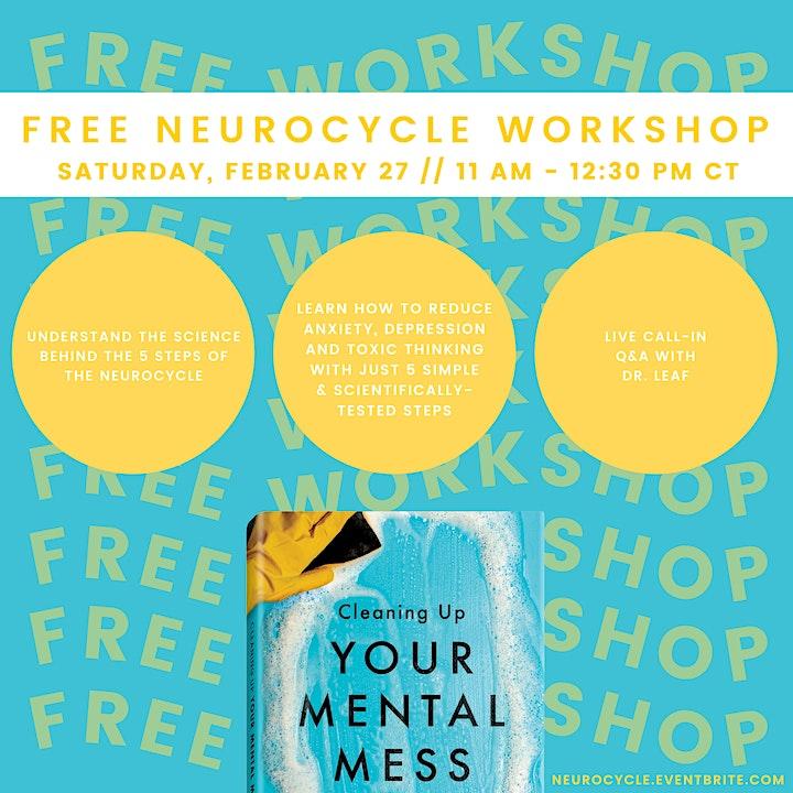 NeuroCycle Workshop with Dr. Caroline Leaf image