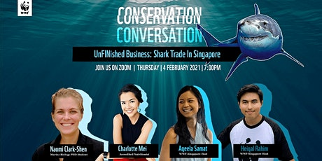 WWF Explains: An UnFINished Business - Shark Trade in Singapore tickets
