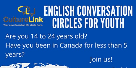 English Conversation Circles for Youth tickets
