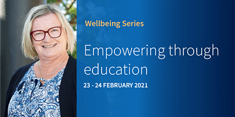 Wellbeing Series: Empowering through education tickets