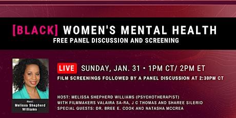 Black Women's Mental Health Panel tickets