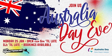 Australia Day Eve Party tickets