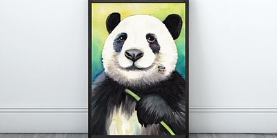 Happy Panda Painting (Virtual Instruction)