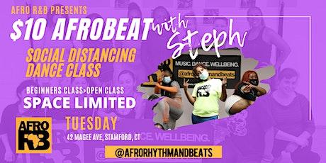 Afrobeat Beginner Dance Class with Steph tickets