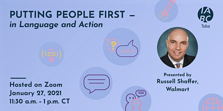 Putting People First – in Language and Action tickets