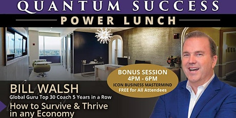 Quantum Success Power Lunch tickets