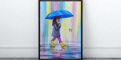 Rainy Day Painting (Virtual Instruction)