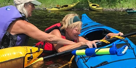 Sea Kayaking Skills: Re-entries, Rescues & Towing tickets