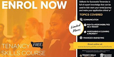 Bowen Hills Tenancy Skills Course tickets