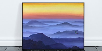 Misty Mountains Painting (Virtual Instruction)