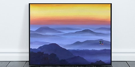 Misty Mountains Painting (Virtual Instruction) tickets