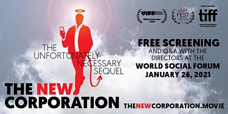 The New Corporation at World Social Forum: Free Public Screening and Q&A tickets