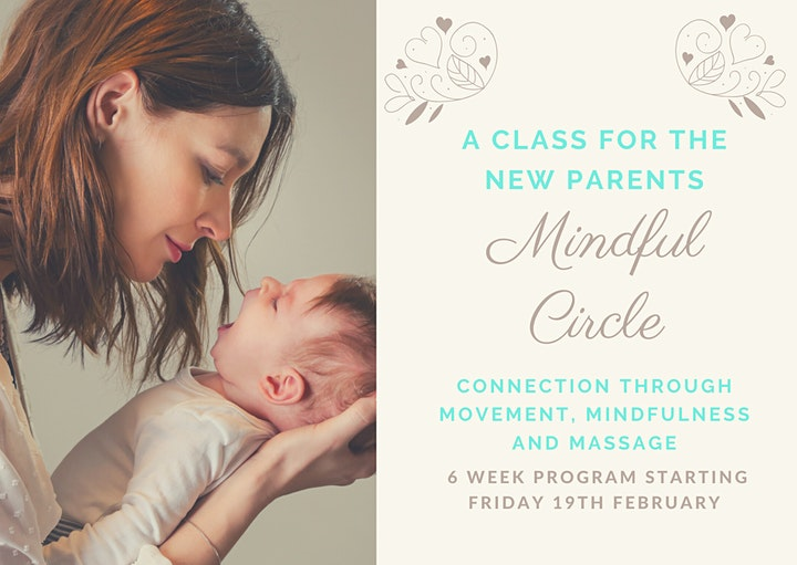 Mindful Circle - 6 week program of connection for parents with young babies image