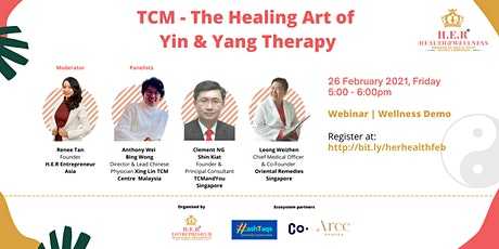 TCM - The Healing Art of Yin & Yang Therapy tickets