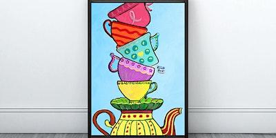 Mar-Tea-Ni Cups Painting (Virtual Instruction)