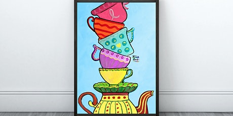 Mar-Tea-Ni Cups Painting (Virtual Instruction) tickets