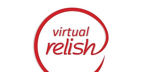 New York City Virtual Speed Dating | Who Do You Relish? | Singles Events tickets