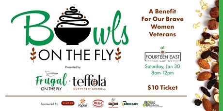 Bowls On The Fly | Benefit For Brave Women Veterans tickets