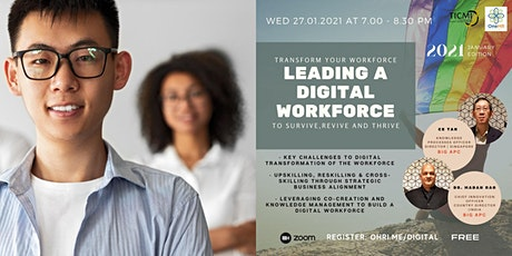 Leading a Digital Workforce tickets