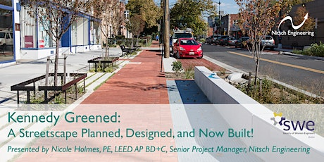Kennedy Greened: A Streetscape Planned, Designed, and Now Built! tickets