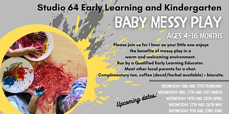 Baby Messy Play tickets