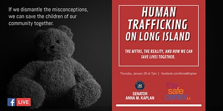 Human Trafficking on Long Island: The Myths, Reality, & How We Save Lives tickets