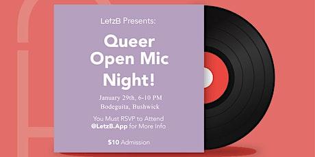 Queer Open Mic Night  (LGBTQ+ Women) tickets