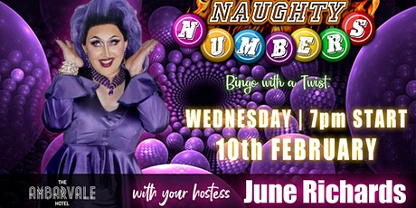 Naughty Numbers Bingo @The Ambarvale Hotel tickets