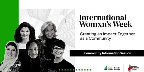 International Womxn's Week (IWW) 2021: Second Community Information Session tickets