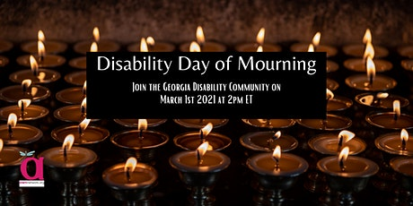 Georgia Community Virtual Vigil for Disability Day of Mourning tickets