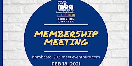 NBMBAA-TC 2021 Membership Meeting tickets