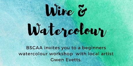 Wine & Watercolour tickets