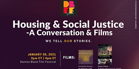 Housing & Social Justice Panel tickets