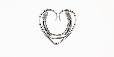 Introduction to Blacksmithing - Make a Horseshoe Heart Trivet tickets