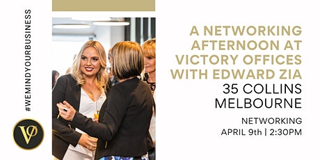 A Networking Afternoon at Victory Offices Melbourne | 35 Collins St tickets