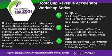 Entrepreneurial Bootcamp Series: Inspire Your Employees Towards Success tickets