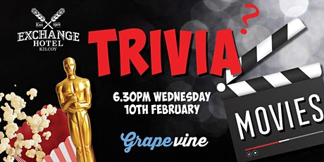 In Venue: MOVIES Trivia at The Exchange Hotel [KILCOY] tickets