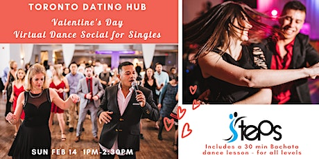 Toronto Dating Hub + Steps Dance - Valentine's Day Dance Social for Singles tickets