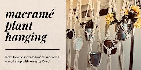 Macrame Plant Hanging Workshop tickets