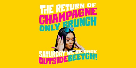 CHAMPAGNE ONLY BRUNCH: Every Saturday at Brooklyn on U: A Party Brunch tickets